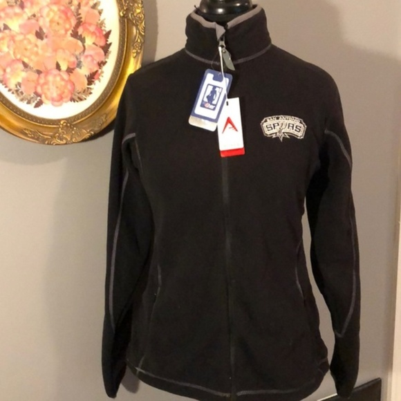 96034d01d1d NWT Antigua Zip Up San Antonio Spurs Ice Jacket